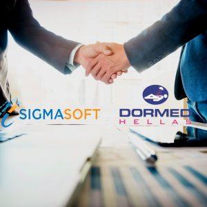 Στρατηγική συνεργασία Sigmasoft & Dormed Hellas!